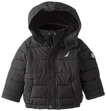 b4f77c0ba Amazon.com  Nautica Baby Boys  Short Bubble Jacket