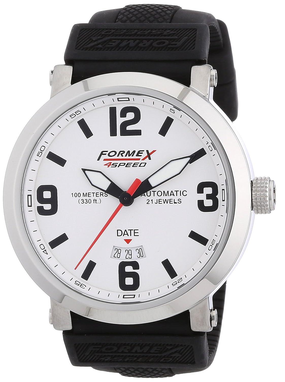 Formex 4 Speed Herren-Armbanduhr XL TS725 Analog Automatik Silikon 72511.7010