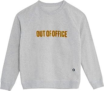 Brava Fabrics - Sudadera Mujer - Sudadera para Mujer - 100% Algodón Orgánico - Modelo out of Office: Amazon.es: Ropa y accesorios