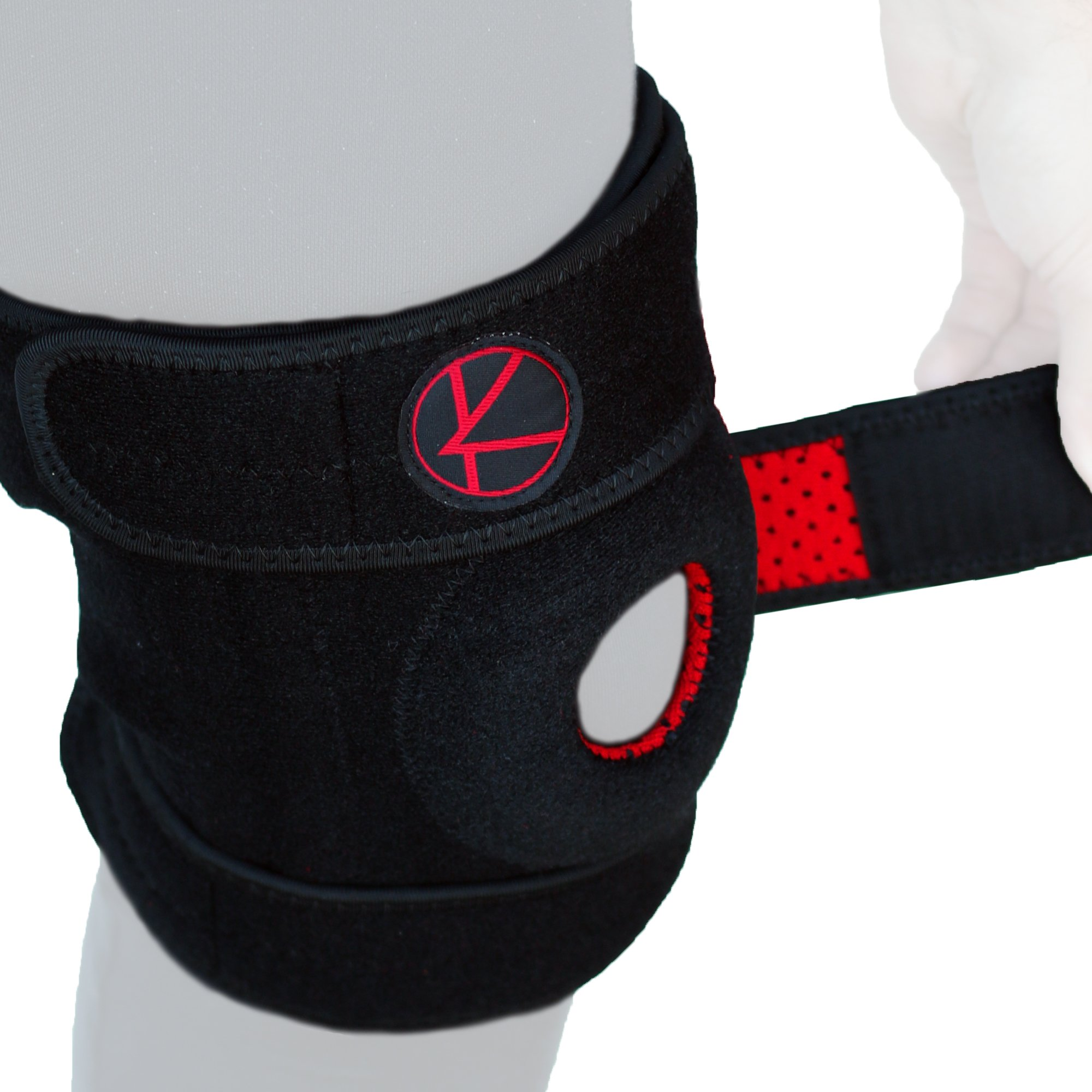 Adjustable Knee Brace Support for Arthritis, ACL, MCL, LCL, Sports Exercise, Meniscus Tear, Injury Recovery, Pain Relief, Walking – Open Patella Neoprene Stabilizer Wrap for Women, Men, Kids(Size 2)