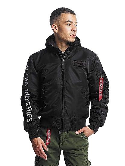 58fc41b9536 Alpha Industries Men Bomber Jackets MA-1 D-Tec SE Flight Black XXXL  Amazon. co.uk  Clothing