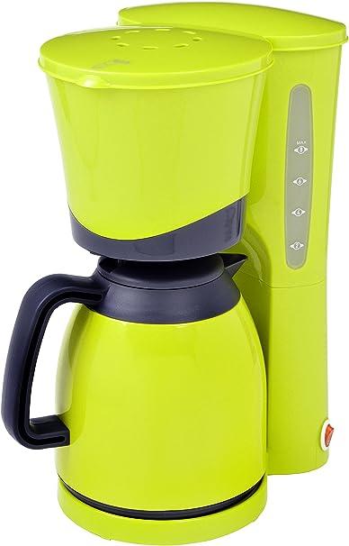 Efbe Schott Cafetera con jarra térmica, Capacidad de 1 L, 800 W, Amarillo limón/Negro, SC KA 520.1 LEMONE: Amazon.es ...