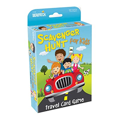 Briarpatch Travel Scavenger Hunt Card Game for Kids, Activities for Family Vacations, Road Trips and Car Rides, Ages 7 and Up: Toys & Games
