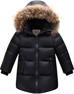 16ea0b9f7 ZOEREA Kids Down Jacket Boys Winter Coat Hooded Thicken Outfit Heavy ...
