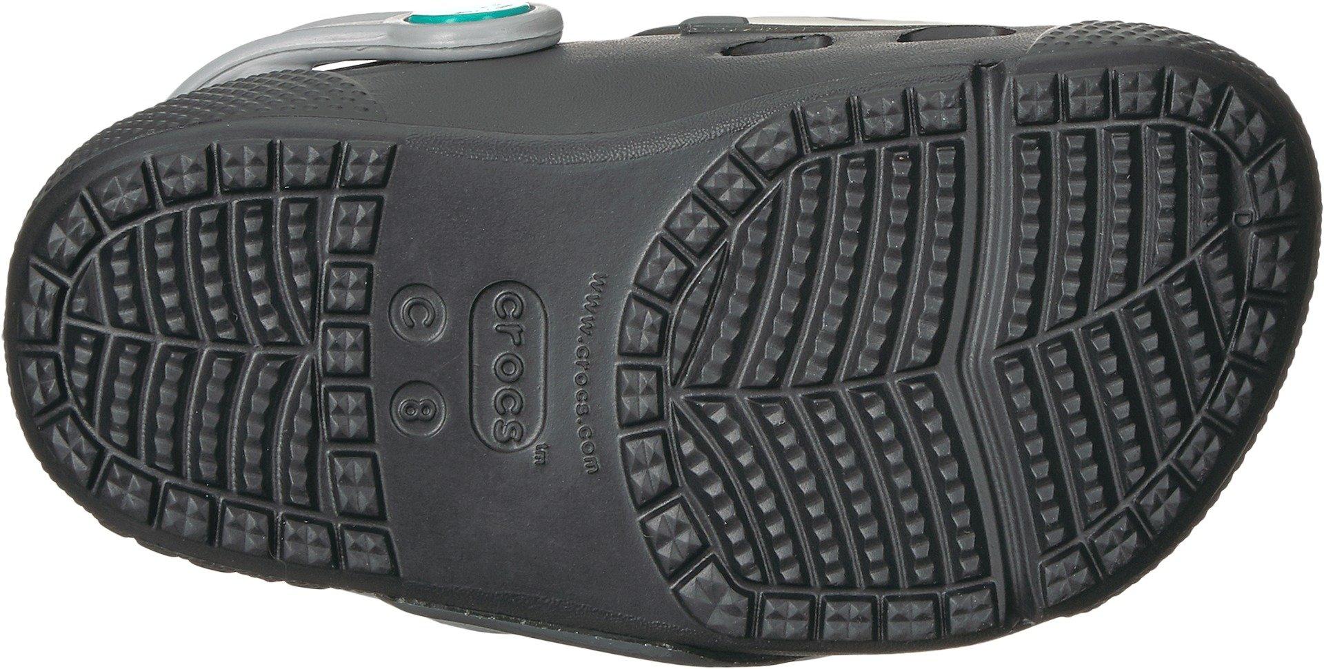 Crocs Unisex Fun Lab Lights Clog K, Black, 1 M US Little Kid by Crocs (Image #3)