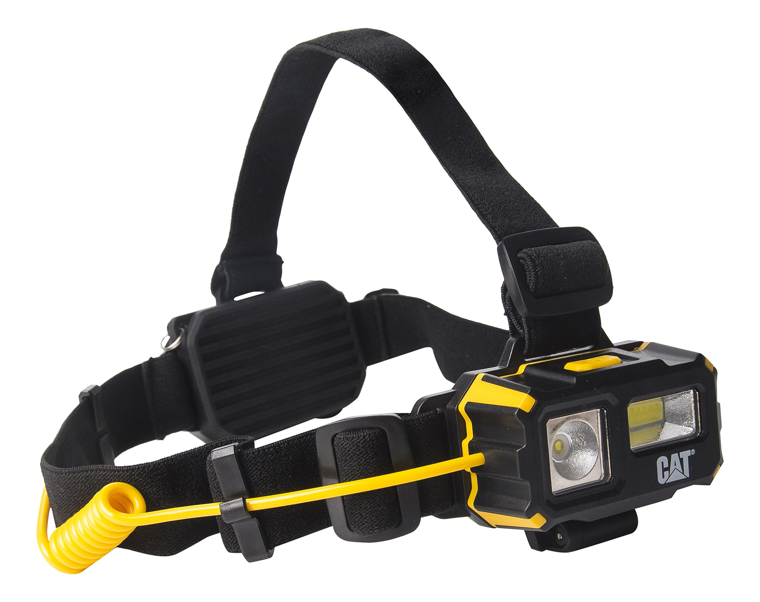 CAT CT4120 Multi Function Battery Powered Head Lamp for Camping, Running, Hiking, Reading, and Working, 3 AAA Batteries Included