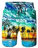 Alistyle Mens 3D Hawaiian Print Funny Lounge Wear