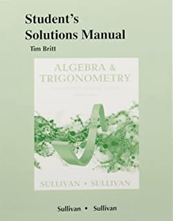 Algebra and trigonometry enhanced with graphing utilities plus students solutions manual for algebra and trigonometry enhanced with graphing utilities fandeluxe Images