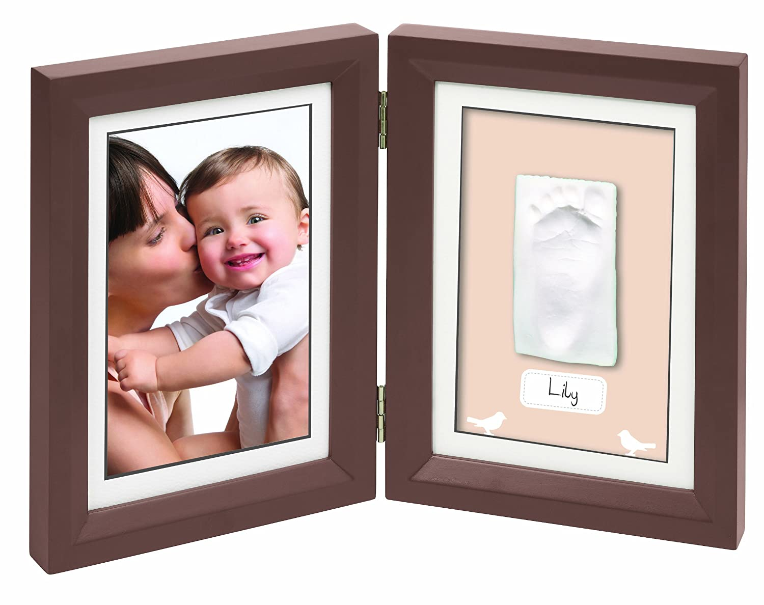 Baby Art Print Frame - Brow and Taupe/Beige 34120107