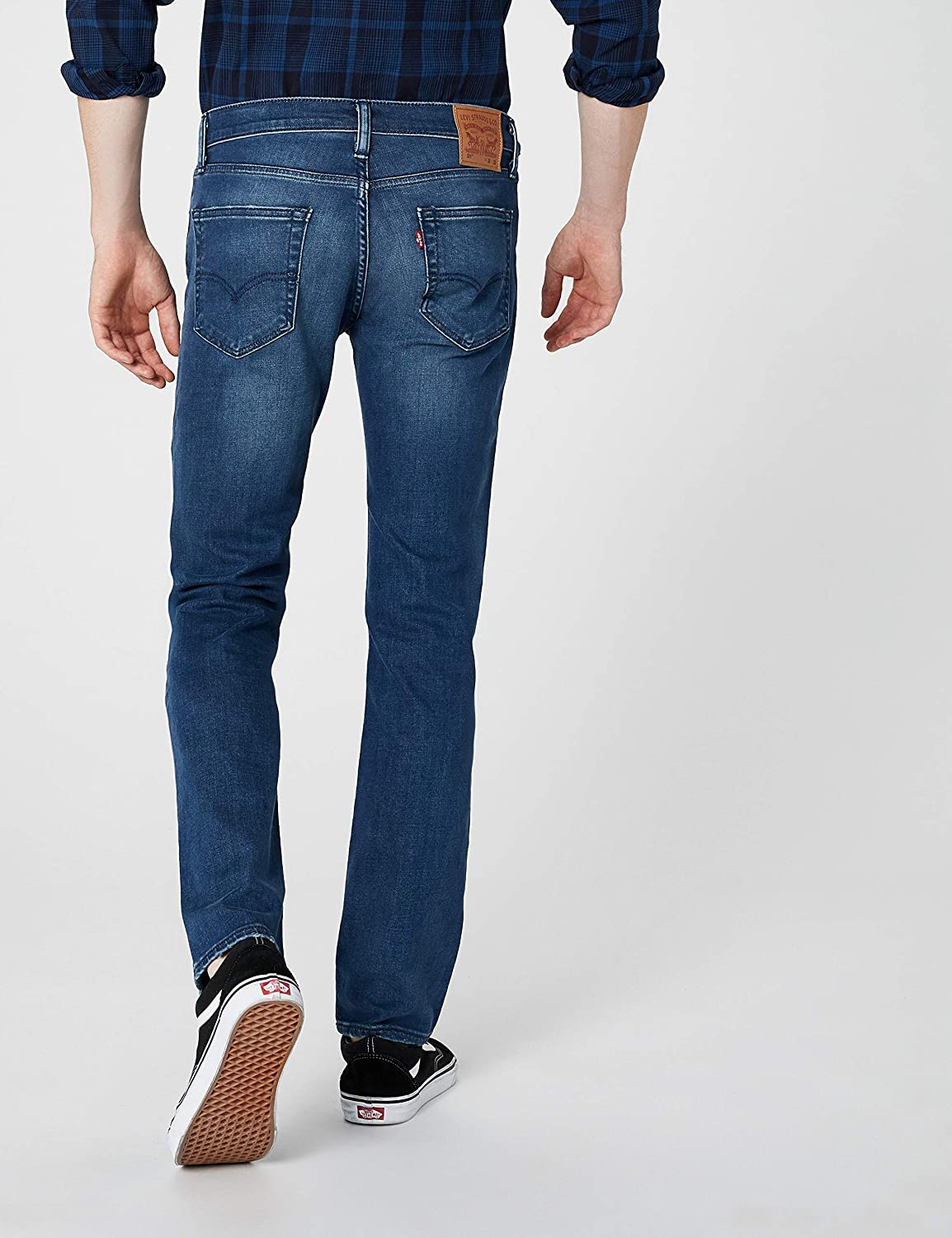 Levi\'s 511 Slim Fit Jeans Uomo Blu Sooty Ember