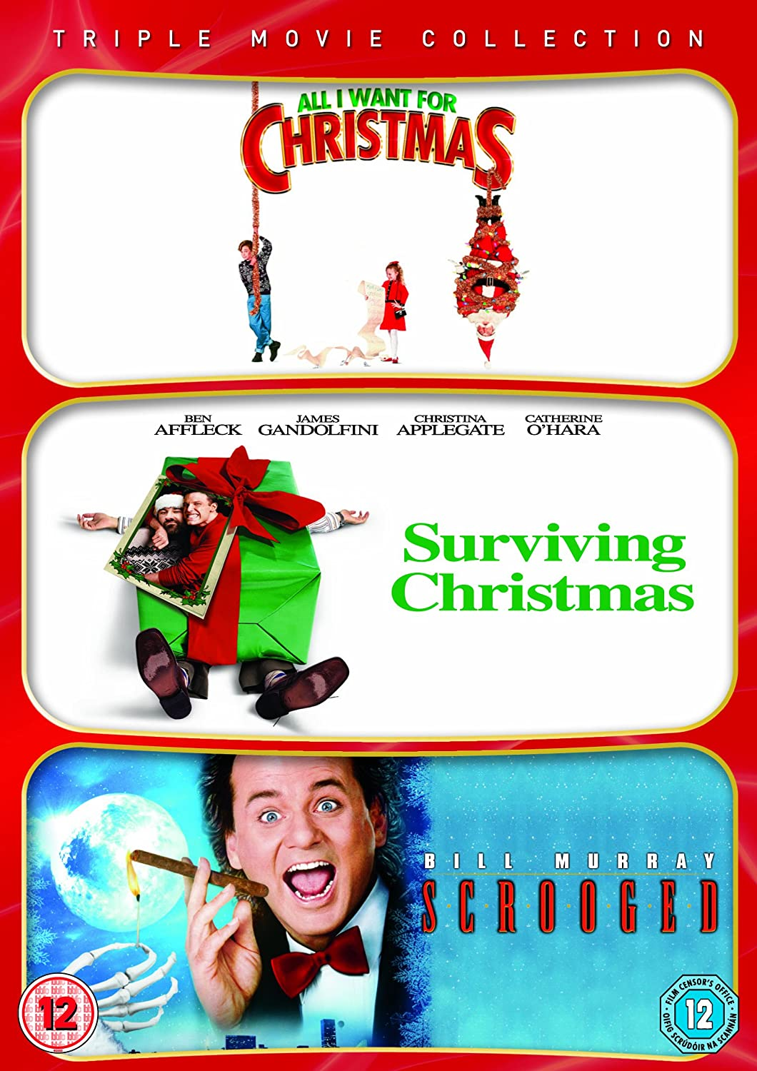 All I Want For Christmas / Surviving Christmas / Scrooged Triple ...