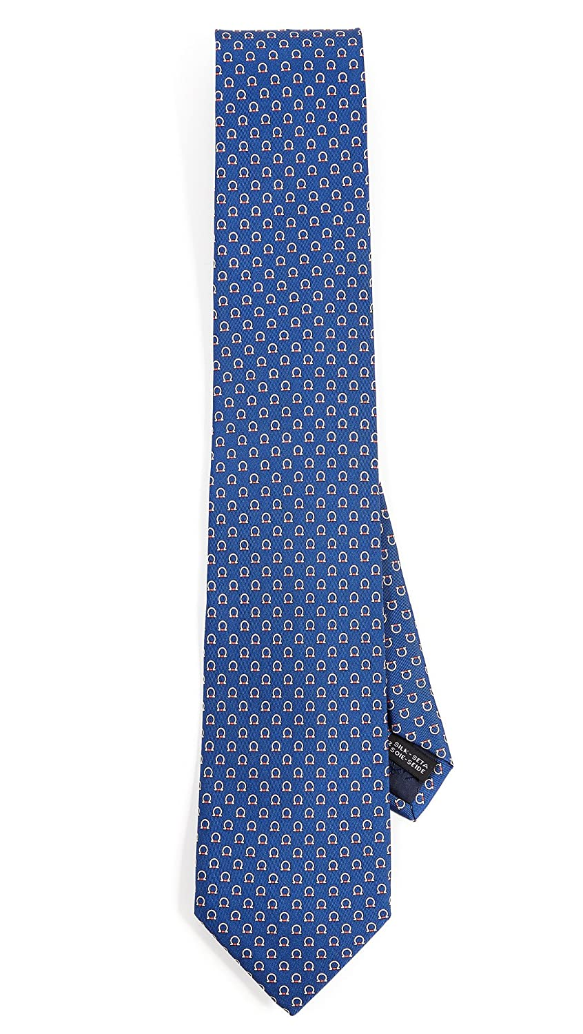 Salvatore Ferragamo Men's Gancini Tie Blue One Size Salvatore Ferragamo-Men's