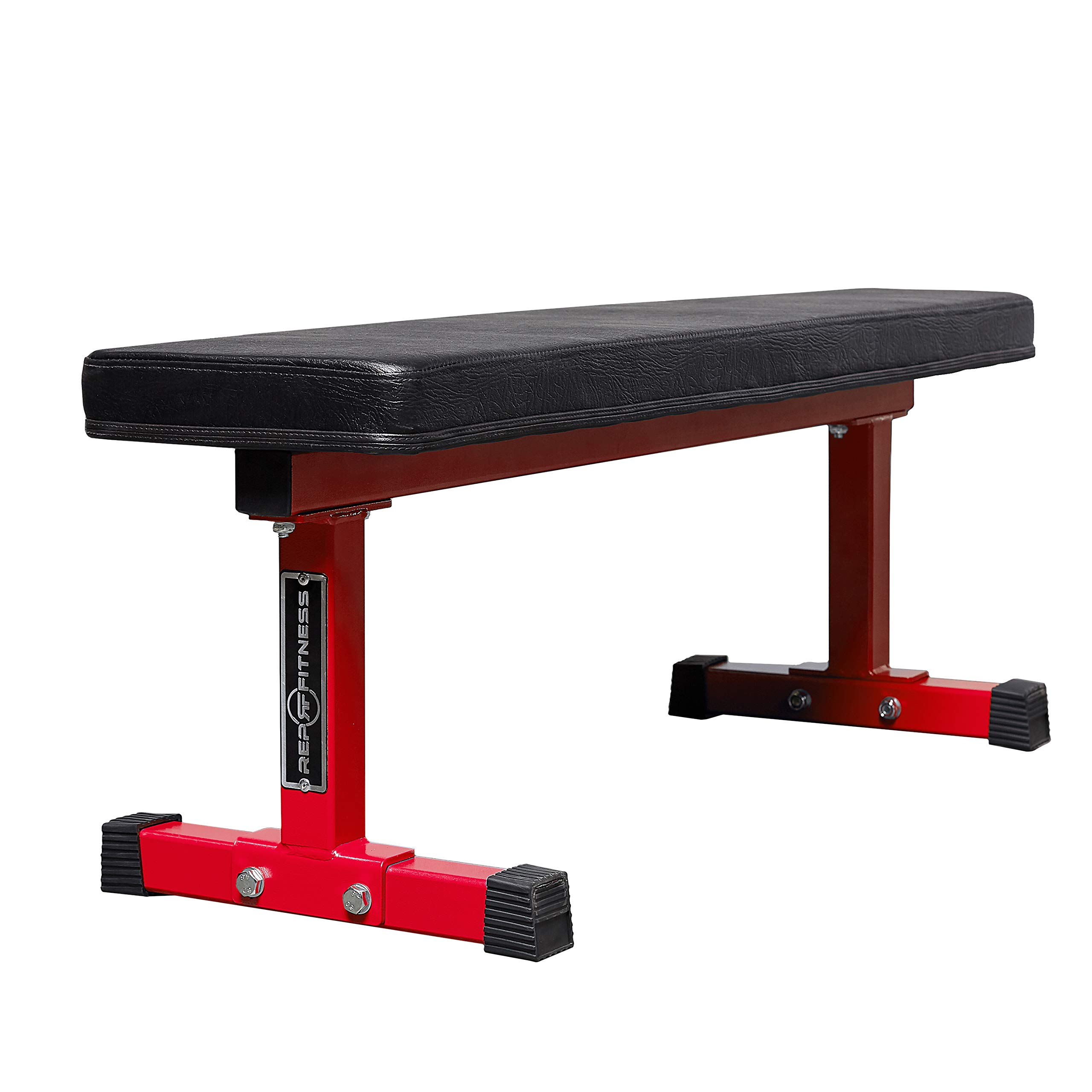 Rep Flat Bench - FB-3000 - Red by REP FITNESS