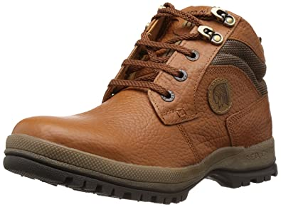 843bcfc2982 Red Chief Men's Elephant Tan Leather Trekking and Hiking Footwear Boots -  10 UK (RC2501