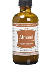Lorann Oils Bakery Emulsions Natural and Artificial Flavor, 4-Ounce, Almond