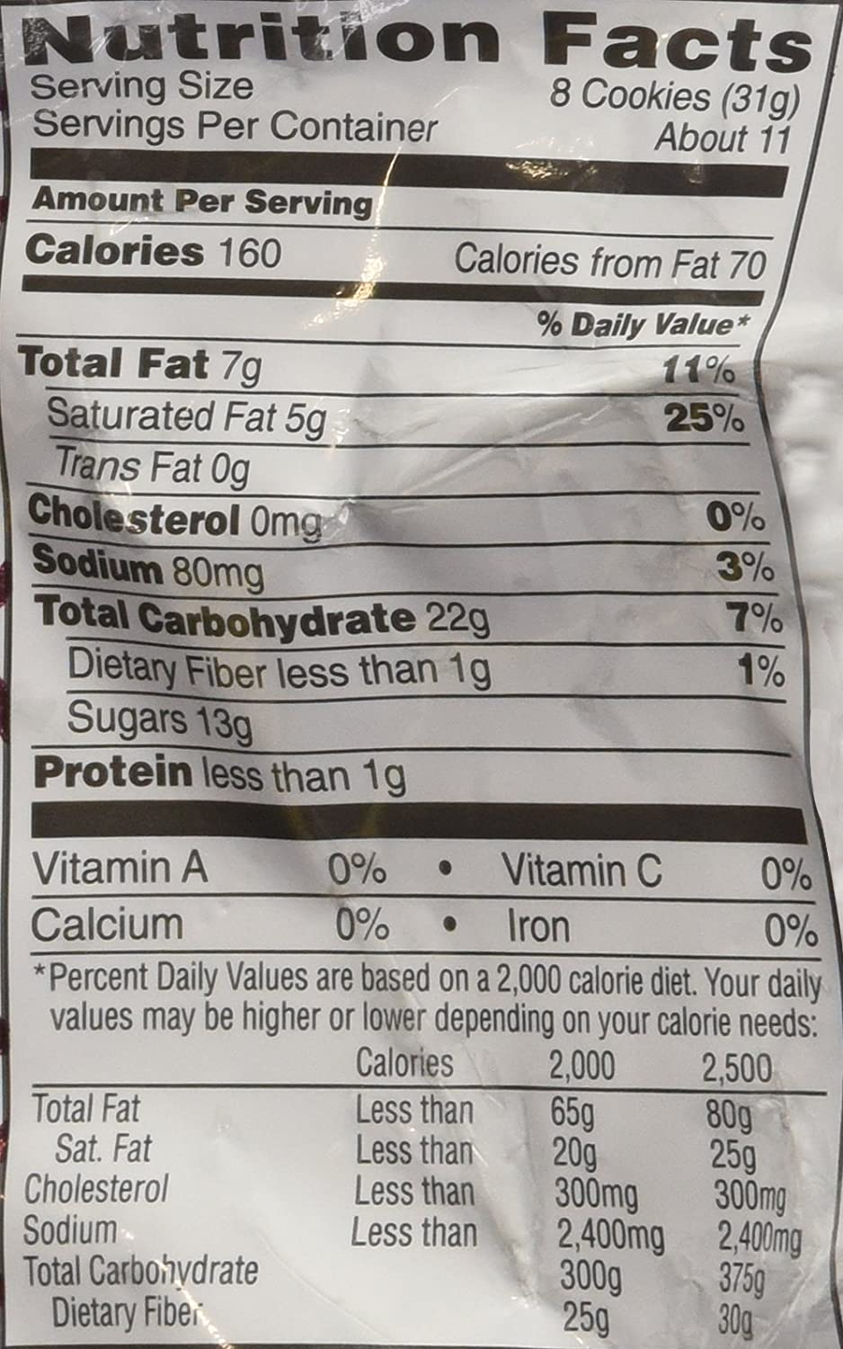 Cookie crisp nutrition facts