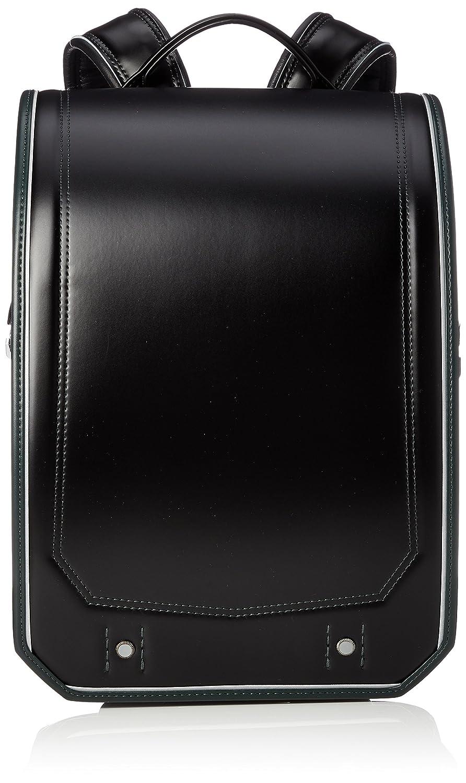 [ふわりぃ] 【公式】ランドセル Gran Compact 2019年度モデル 男児 05-39000 B07BSPB5Z7 ブラック×エバーグリーンコンビ ブラック×エバーグリーンコンビ