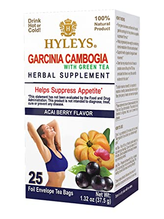 Amazon Com Hyleys Garcinia Cambogia Green Tea Acai Berry 25