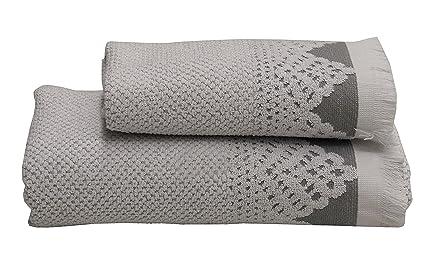 Spugne Da Bagno Caleffi : Caleffi confezione set asciugamani e telo bagno procida amazon