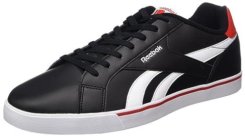 Reebok Royal Complete 2Ll, Zapatillas de Tenis para Hombre, Negro (Black/White/Riot Red 000), 46 EU