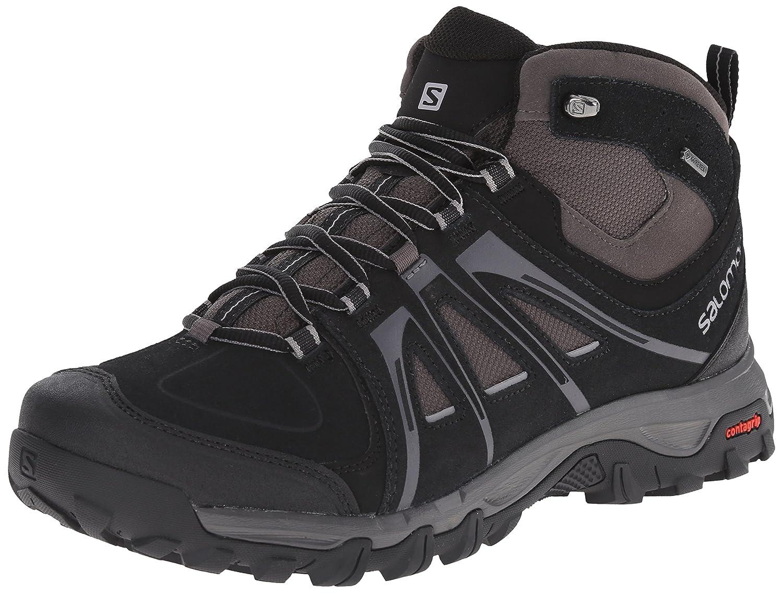 [サロモン] トレッキングシューズ EVASION MID ゴアテックス 防水 登山靴 B00PRRAP1U 27.0 cm|ブラック/オートバーン/ピューター ブラック/オートバーン/ピューター 27.0 cm