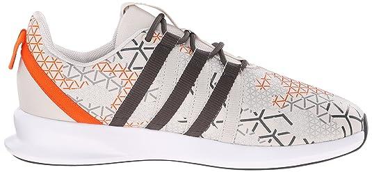 adidas Originals Men s SL Loop Racer Lace-Up Sneaker Talc Off White/Grey/ Orange 8 D(M) US: Amazon.in: Shoes & Handbags