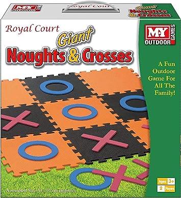 KandyToys Cerdas y Cruces Gigantes Diversión Tradicional Jardín al Aire Libre Familia Juego de niños: Amazon.es: Juguetes y juegos