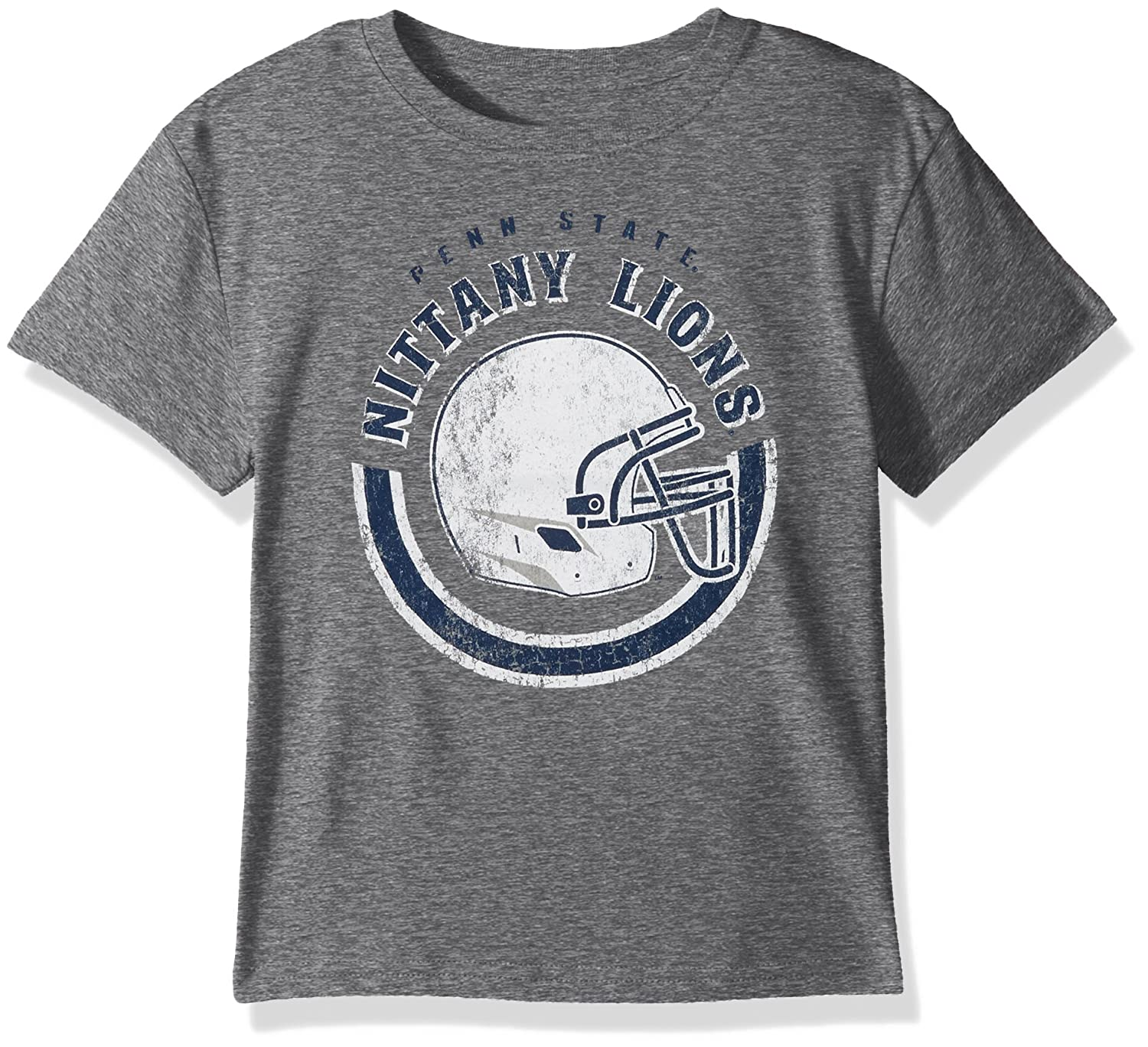 14-16 Youth Large NCAA by Outerstuff NCAA Penn State Nittany Lions Youth Boys Cannon Ball Alternate Color Tri-blend Tee Dark Grey Heather
