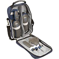 Oster 078399310001 Equine Care Series 7-Piece Grooming Kit, Blue