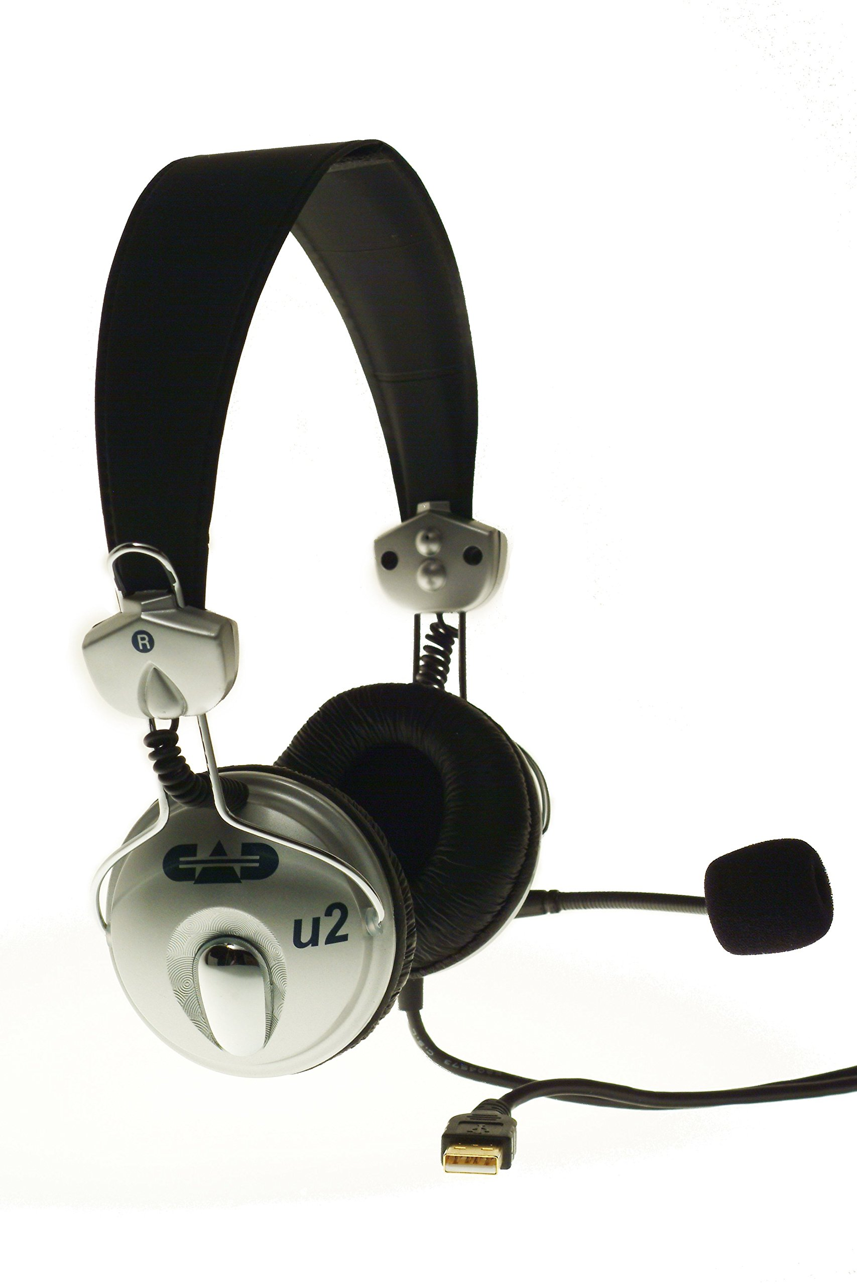 CAD Audio USB U2 Stereo Headphones with Cardioid Condenser Microphone by CAD Audio (Image #1)