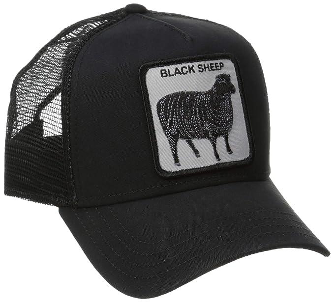 8e7369c5f Goorin Bros. Men's Naughty Lamb Baseball, Black, One Size: Amazon.co ...