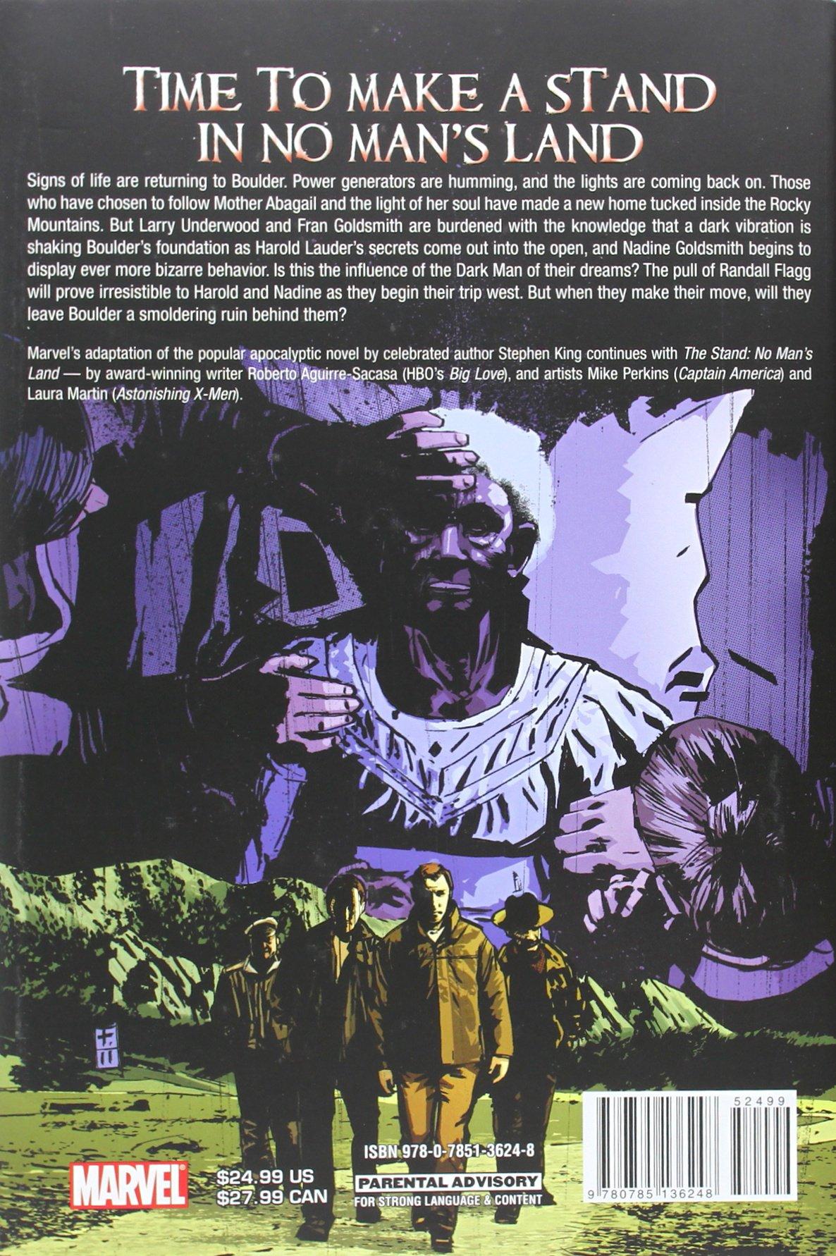 The Stand: No Man's Land: Stephen King, Roberto Aguirresacasa, Mike  Perkins, Laura Martin: 9780785136248: Amazon: Books
