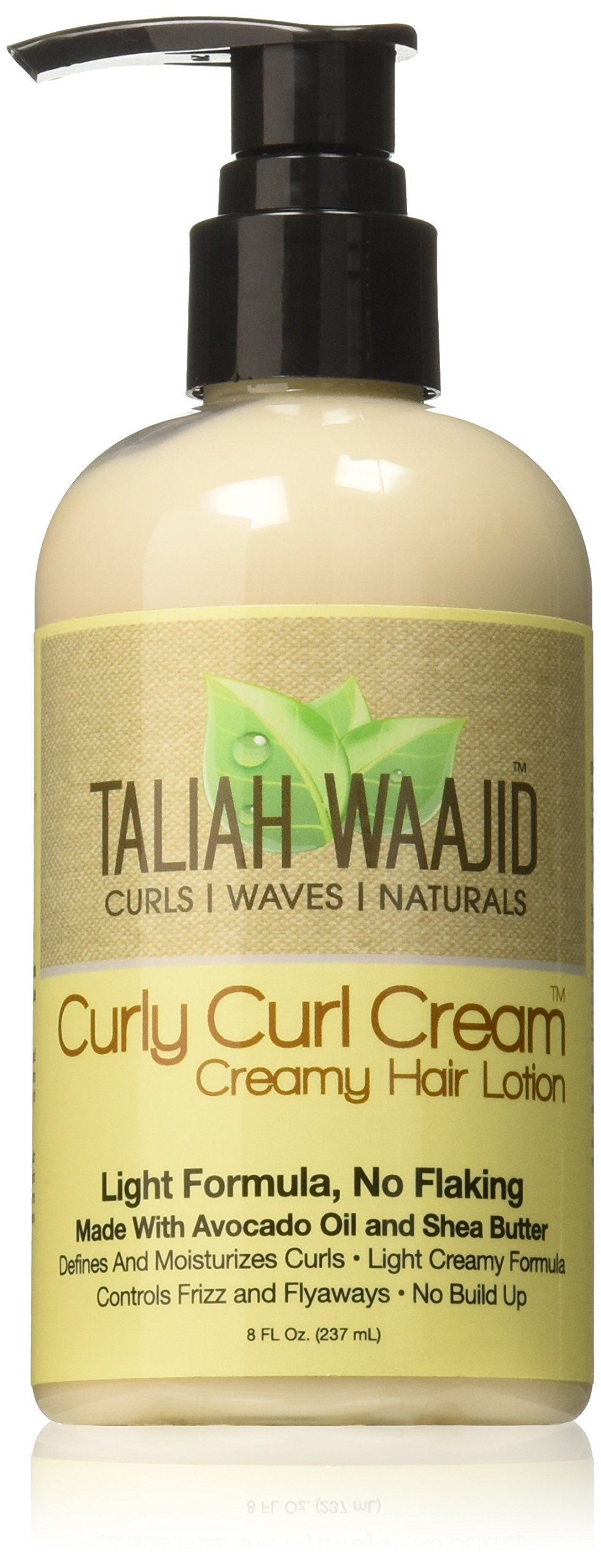 Taliah Waajid Curly Cream Creamy Hair Lotion,8 oz