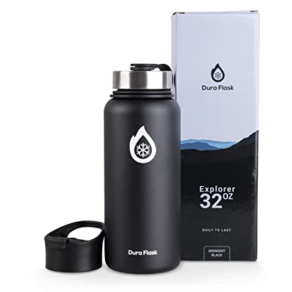 Amazon.com: DuraFlask Explorer Botella de agua de doble ...