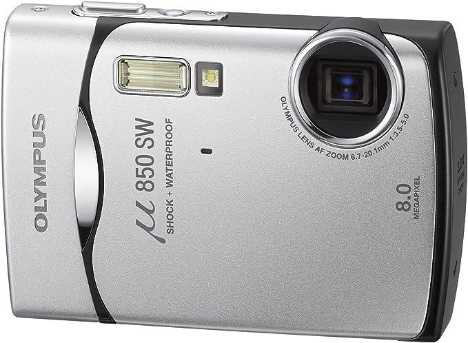Olympus Mju 850sw Digitalkamera 2 5 Zoll Starry Silver Kamera