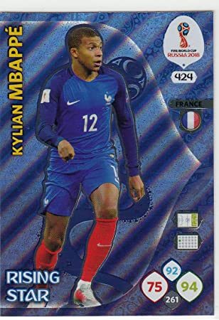 PANINI FIFA WORLD CUP Russia 2018 ADRENALYN XL Power 4 cartes pour sélectionner