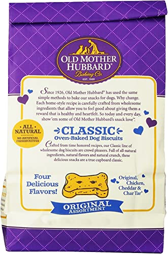 Old Mother Hubbard Crunchy Classic Natural Dog Treats – Original Assortment 2 Pack