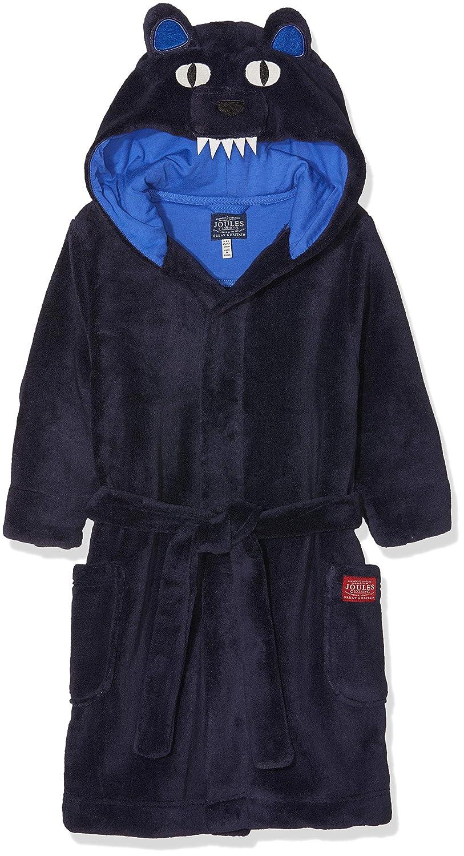 Joules Kids Mens Bear Character Robe Infant//Toddler//Little Kids//Big Kids