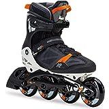 K2 Herren Fitness Inline Skates VO2 90 Pro M, schwarz-orange, 30C0017.1.1