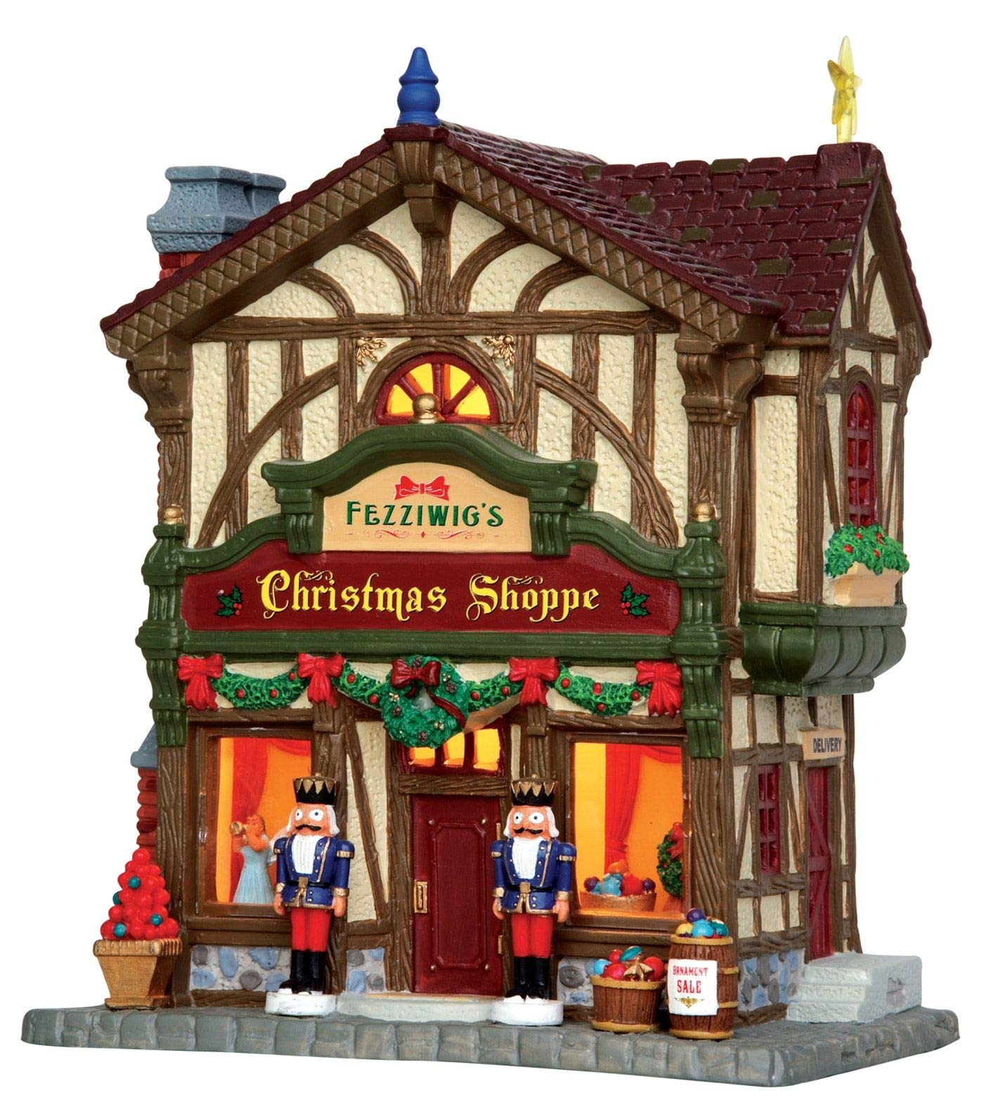 Lemax Village Collection Fezziwig's Christmas Shoppe #45742 by Lemax Village Collection