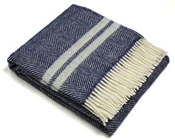 wool throw blanket Amazon.com: Wool Throw Blanket by Tweedmill   Pure New Wool  wool throw blanket