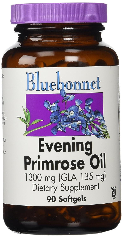 Aceite de Onagra, 1300 mg, 90 cápsulas blandas - Bluebonnet Nutrición: Amazon.es: Salud y cuidado personal