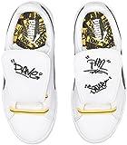 PUMA Baby Basket Tongue Kids Sneaker, White