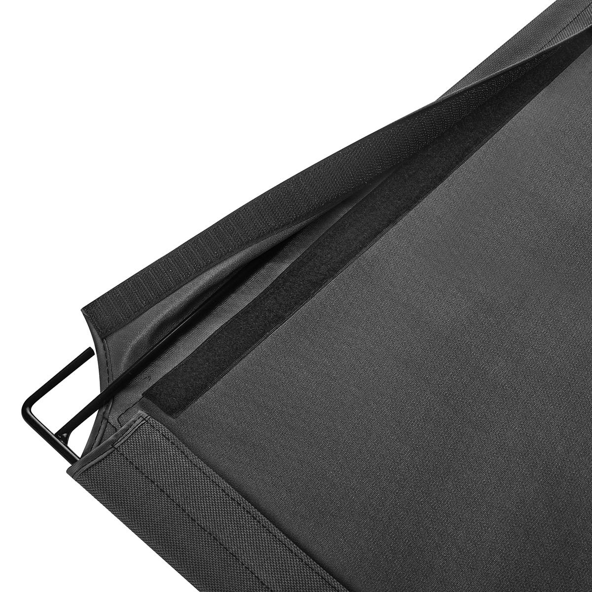 L.S Cat Bed Window Hammock Kitty Sunny Bed Perch Up to 55lb (Double, Grey) (Rectangle) by L.S (Image #8)
