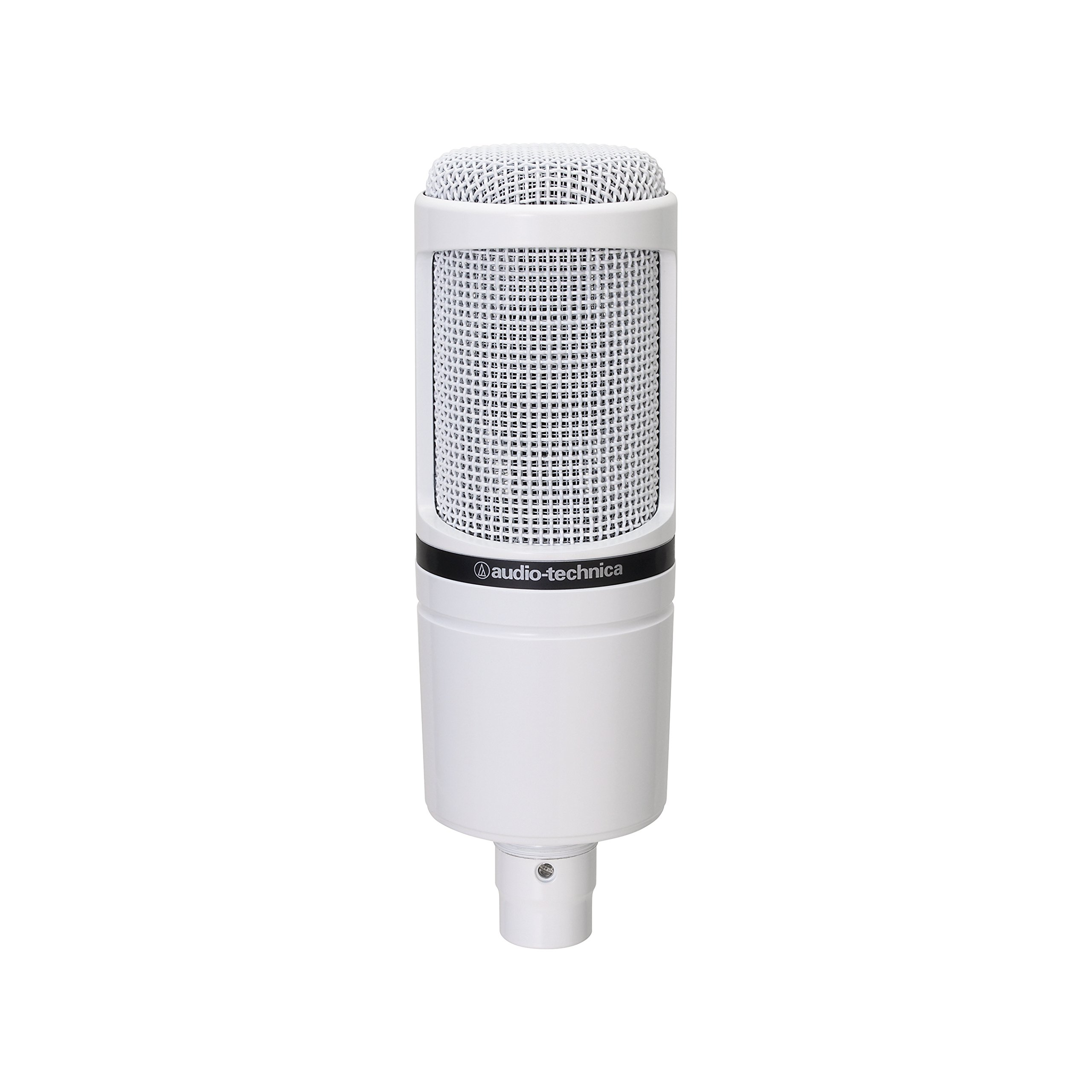 Audio-Technica AT2020 Cardioid Condenser Studio Microphone, White by Audio-Technica (Image #2)