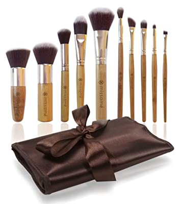 Missamé 10 Pcs Makeup Brushes