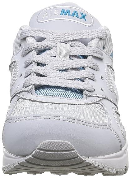 Nike Air Max IVO SIZE 11 Women Running Shoes Pure Platinum White 580519 014