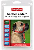 BEAPHAR GENTLE LEADER FOR SMALL DOGS AND PUPPIES, S SIZE, RED LEAD
