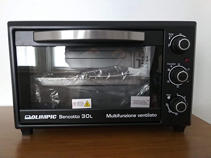 Horno Olimpic 52206 bencotto 30lt Horno eléctrico multifunción ventilado: Amazon.es: Hogar
