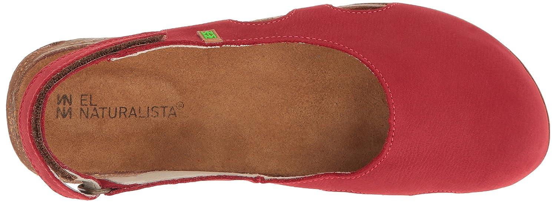 El Naturalista Damen Rot N413 Geschlossene Sandalen, Grün Rot Damen (Tibet) 2b7bcc